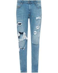 DIESEL - 'deepzip' Jeans - Lyst