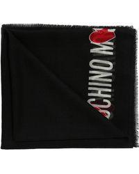 Moschino - Logo Shawl - Lyst