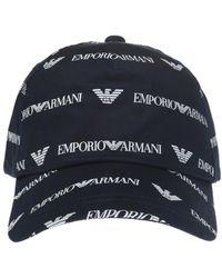 c08fb76a Men's Emporio Armani Hats - Lyst