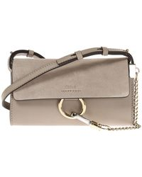Chloé - 'faye' Shoulder Bag - Lyst