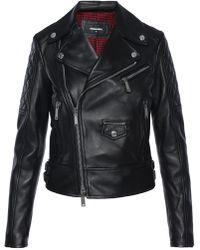 DSquared² - Biker Jacket - Lyst