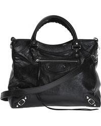 Balenciaga - 'giant' Shoulder Bag - Lyst