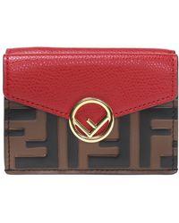 Fendi - Embellished Wallet - Lyst