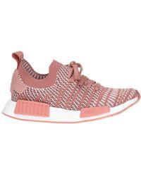 Lyst adidas Originals naranja color NMD R1 stlt zapatilla en color naranja rosa 7c7dbb