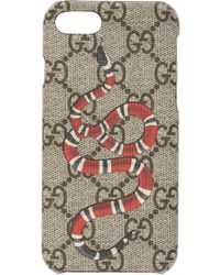Gucci - Iphone 8 Case With A Snake Motif - Lyst