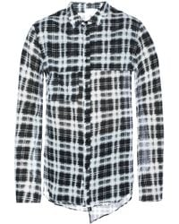 Lost & Found | Long Checked Shirt | Lyst