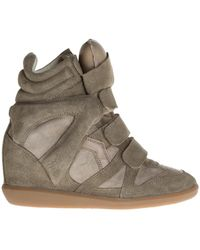 Étoile Isabel Marant - Wedge 'beckett' Trainers - Lyst