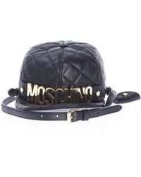 Moschino - Quilted Cap Shoulder Bag - Lyst