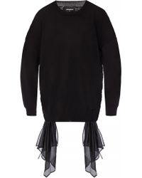 DSquared² - Tie-up Sweater - Lyst
