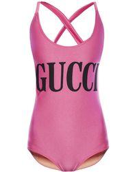 8b43d3ab9e88f Gucci Swimwear, Bikinis & Swimsuits - Lyst