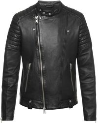 AllSaints - 'jasper' Biker Jacket - Lyst