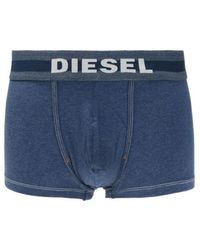 DIESEL - Boxers With Embroidered Logo - Lyst