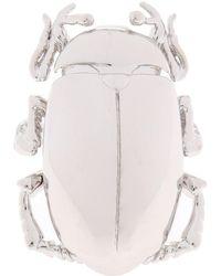 Balenciaga - Insect Motif Ring - Lyst