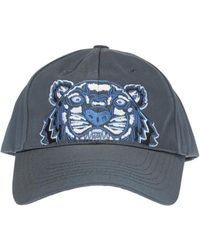 KENZO - Embroidered Tiger Head Baseball Cap - Lyst