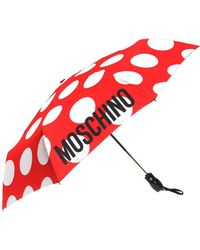 Moschino - Logo-printed Umbrella - Lyst