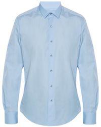 Lanvin - Cotton Shirt - Lyst