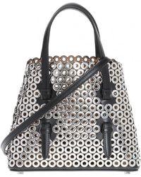 Alaïa - Studded Shoulder Bag - Lyst