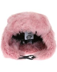 Moncler Grenoble - Hat With Lamb Fur - Lyst
