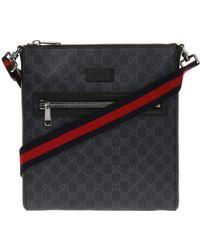 Gucci - 'gg Supreme' Canvas Shoulder Bag - Lyst