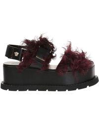 Versace - High Platform Sandals - Lyst
