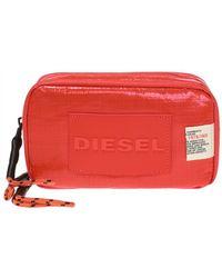 DIESEL - 'hi-sokaa' Wash Bag With Logo - Lyst