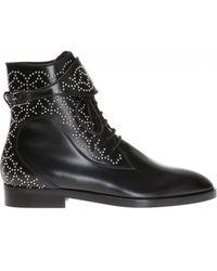 Alaïa - Studded Ankle Boots - Lyst