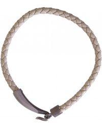 Bottega Veneta - Leather Woven Bracelet - Lyst
