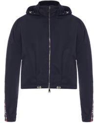 Moncler - 'zirconite' Hooded Jacket - Lyst