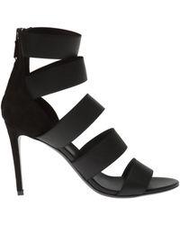 Balmain 'livia' Heeled Sandals - Black
