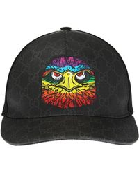e53e23bb8a2 Gucci Brown Angry Cat Gg Supreme Baseball Cap in Brown for Men - Lyst