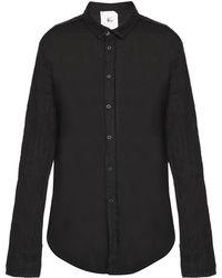 Lost & Found - Raw-trimmed Shirt - Lyst