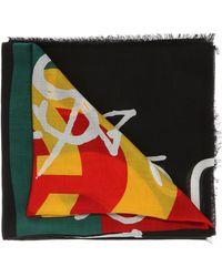 Gucci - 'coco Capitan' Printed Shawl - Lyst