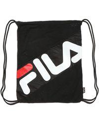 0d32301ade Fila Vintage Backpack In Black in Black for Men - Lyst