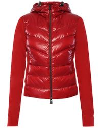 Moncler Grenoble - Quilted Hooded Sweatshirt - Lyst