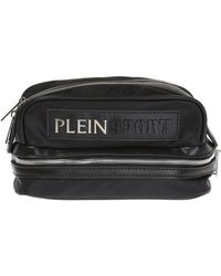 Philipp Plein - Metal Logo Wash Bag - Lyst