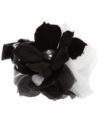 Lanvin   Bracelet With Silk Flower   Lyst