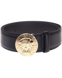Versace - Decorative Buckle Belt - Lyst