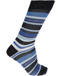 Etro - Striped Socks - Lyst