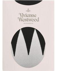 Vivienne Westwood   Black Zig Zag Tights   Lyst