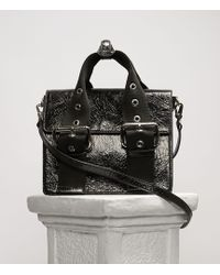 90bb4b6938a Vivienne Westwood Sharlenemania 7050 Large Quilted Bag With Flap Black in  Black - Lyst