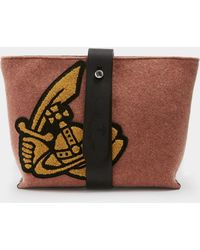 Vivienne Westwood - Alice Clutch With Shoulder Strap - Lyst