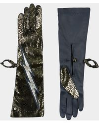 Vivienne Westwood - Long Gloves Blue - Lyst