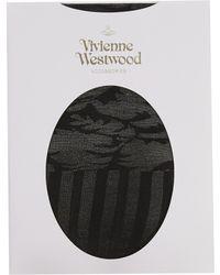 Vivienne Westwood   Ballet Russe Cylinder Tights Black   Lyst