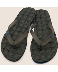 Volcom - Recliner Ruber 2 Sandals - Blue Black - 10 - Lyst