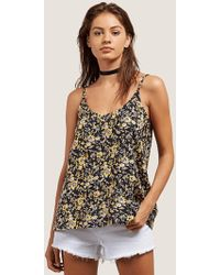 Volcom - You Want This Top - Citrus Gold - L - Lyst
