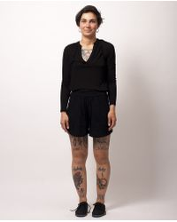 Won Hundred - Black Painter Shorts - Lyst