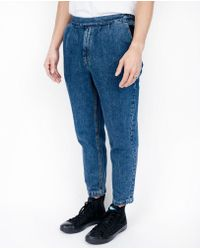 Uniforms for the Dedicated - Shadows Short Trouser / Rinse Wash - Lyst
