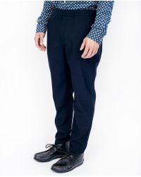 Uniforms for the Dedicated - Illusions Trouser / Dark Navy - Lyst