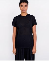 Baserange - Tee Shirt / Black - Lyst