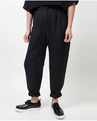 First Rite - Hi Desert Trouser / Black - Lyst